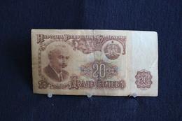 55 /  Bulgaria - 20 Lewa - 1974   /  N° A? 601068 - Bulgarie