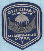 RUSSIA / Patch Abzeichen Parche Ecusson / Airborne. Special Forces. Intelligence Service. The Arctic. Bat. - Blazoenen (textiel)