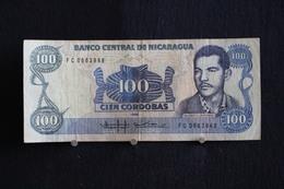 59 / Nicaragua , Banco Central De Nicaragua 1985 . Vente 100 Cordobas   /  N° FC 0663948 - Nicaragua