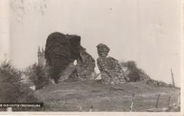 The Old Castle Crossmolina, Ireland  Real Photo Post Card - Ireland