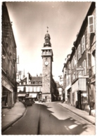 CPSM 03 (Allier) Moulins - Rue De L'Horloge TBE - Moulins