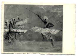 Danseurs De L'Urundi Par M. Molitor - Ruanda-Urundi