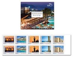 GREECE STAMPS 2019/RODOS MARIS HOTEL RHODOS-SELF ADHESIVE BOOKLET-20/6/19-MNH - Greece