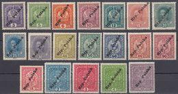 POLONIA - POLSKA - 1919 - Lotto Di 19 Valori Nuovi MH/MNH: Yvert 111/129. - 1919-1939 Republic