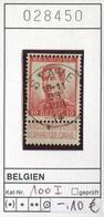 Belgien - Belgique -  Belgium - Belgie - Michel 100 I - Oo Oblit. Used Gebruikt - 1905 Breiter Bart