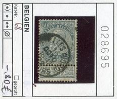 Belgien - Belgique -  Belgium - Belgie - Michel 68 - Oo Oblit. Used Gebruikt - 1905 Breiter Bart