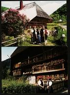 2 AK : Altes Schwarzwaldhaus  -  Schwarzwaldtracht  -  Ansichtskarten Ca. 1975    (11153) - Titisee-Neustadt