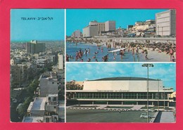 Modern Multi View Post Card Of Tel Aviv, Tel Aviv, Israel,B42. - Israel