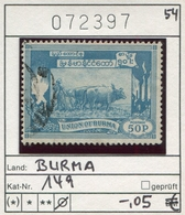 Myanmar (Burma/Birma) - Michel 149 - Oo Oblit. Used Gebruikt - Union Of Burma - Myanmar (Burma 1948-...)