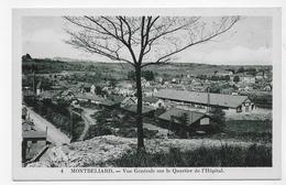 MONTBELIARD - N° 4 - VUE GENERALE SUR LE QUARTIER DE L' HOPITAL - CPA NON VOYAGEE - Montbéliard