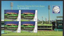 AUSTRALIA, 2019 SYDNEY STAMP EXPO MNISHEET MNH - Mint Stamps