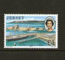 JERSEY, 1989 ROYAL VISIT 1 MNH - Jersey
