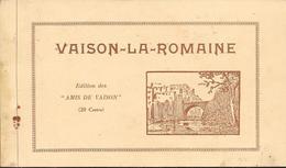 """Superbe Carnet D'époque Complet De Ses 20 Cartes - VAISON-LA-ROMAINE (Edition Des """"AMIS DE VAISON"""" - Vaison La Romaine"""