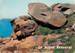 Ploumanach Parmi Les Rochers Bizarres Le Sabot Renversé 1971  CPM Ou CPSM - Ploumanac'h