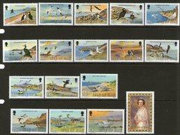 ISLE OF MAN, 1983/5 DEFINATIVES 17 MNH - Isle Of Man