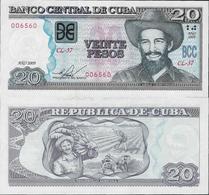 Cuba 2009 - 20 Pesos - Pick 122f UNC - Cuba