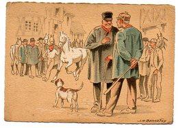 BARDAY / Croquis Régionaux : Le Marché Aux Chevaux (dessin De J. H. Bonnefoy). - Barday