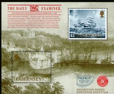 GUERNSEY, 1997 PACIFIC97 MINISHEET MNH - Guernesey