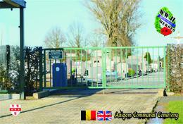 Set 9 Cartes Postales,WW II Cemetery, Belgium, Aaigem (Erpe-Mere), Begraafplaats Von Aaigem - Cimiteri Militari