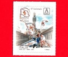Nuovo - MNH - ITALIA - 2018 - 45 Anni Dei Bandierai Degli Uffizi (Firenze) - A Zona 1 - 1946-.. République