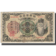Billet, Korea, 1 Yen, KM:29a, TB - Korea, Zuid