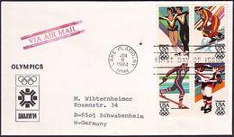 USA - 1984 - Winter Olympic Games 1984 - FDC - Winter 1984: Sarajevo