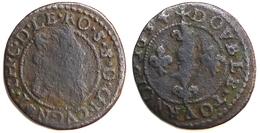 ARDENNES - SEIGNEURIE DE CUGNON - Jean-Théodore DE LÖWENSTEIN - Double Tournois (2,27 G) - 476-1789 Monnaies Seigneuriales