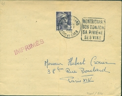 FRANCE DAGUIN.41.loir Et Cher.MONTRICHARD/son Donjon/sa Rivière/ses Vins .1952 (fl à Dr) TB - Wines & Alcohols