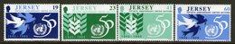 JERSEY, 1995 UNITED NATIONS 4 MNH - Jersey