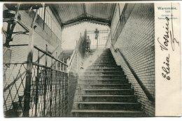 CPA - Carte Postale - Belgique - Waremme - Escalier Du Passage Souterrain  (B9010) - Waremme