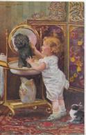 AK 0263  Riesen , A. Von - Morgendouche / Künstlerkarte Um 1916 - Malerei & Gemälde
