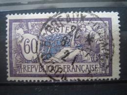 FRANCE  TYPE  MERSON N° 144 OBLITERE- CACHET ROND - Francia