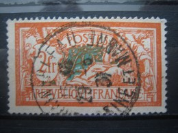 FRANCE  TYPE  MERSON N° 145 OBLITERE- CACHET ROND - Francia