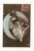 Cp, Femme, Voyagée 1909 - Femmes