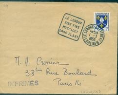 FRANCE DAGUIN.44.loire Atlantique LE LOROUX /vins Fins/muscadet/gros Plan .1955 (fl à G) TB - Vins & Alcools