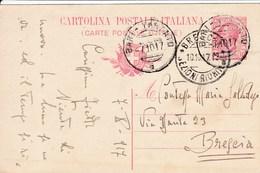Ambulante Bari-Taranto 7-10-17 - 1900-44 Vittorio Emanuele III
