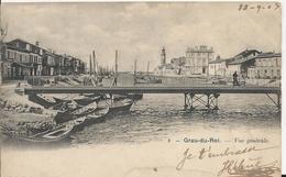Carte Postale Ancienne Du Grau Du Roi Vue Générale - Le Grau-du-Roi