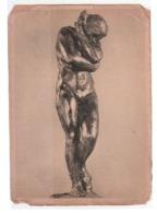 Picture Postcard Of Art , Sculpture By Auguste Rodin, 1881-ca.1899, Éve, Bronze , Lot # FR158 - Sculture