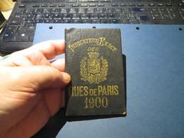 PLAN DE PARIS 1900 - Europe