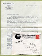 GIBBS & Cie  : MISSIVE POUR LA RECUPERATION DES METAUX  (1941) - Documents