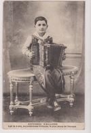 Artiste   Antonio Fallone Age De 9 Ans Accordeoniste Virtuose Le Plus Jeune Pour L'epoque - Musique Et Musiciens