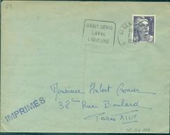 FRANCE DAGUIN.69.RHONE.ST GENIS LAVAL Liqueurs/pépinières. .1955 (fl à G) Bien - Wines & Alcohols