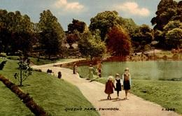 CPA Queen's Park, Swindon - Animée - Angleterre