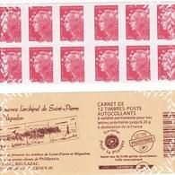 Carnet FRANCE - 2012 - Marianne De BEAUJARD - FRANCE - Archipel Saint-Pierre Et Miquelon - Postzegelboekjes