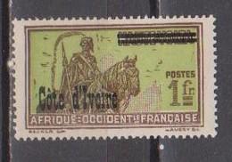 COTE D'IVOIRE       N° YVERT  :    100     NEUF SANS CHARNIERE     ( NSCH 1/5  ) - Ivory Coast (1892-1944)