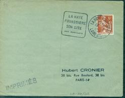 FRANCE DAGUIN.44.loire Atlantique. LA HAYE FOUASSIERE/son Site/ses Muscadets.13.8.1958. (fl à G)  TB. - Vins & Alcools