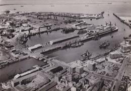 Cp Photo Dept 62 - Boulogne-sur-mer -  Le Port Et La Rade Vue Aérienne - Pas Courante (voir Scan Recto-verso) - Boulogne Sur Mer