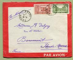 "MAROC  :  ENVELOPPE "" LATECOERE "" - Départ SAFI Pour BOURMONT  (1930) - Morocco (1891-1956)"