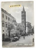 Lazio-velletri Piazza Cairoli Animatissima Differente Veduta Anni 40/50 Auto Epoca Persone Case Chiesa (vedi Retro) - Velletri