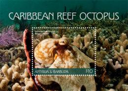 Antigua And Barbuda 2018 Fauna CARIBBEAN REEF OCTOPUS    I201901 - Antigua And Barbuda (1981-...)